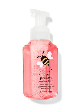 Жидкое мыло для рук BBW Foaming Hand Soap Strawberry Lemon
