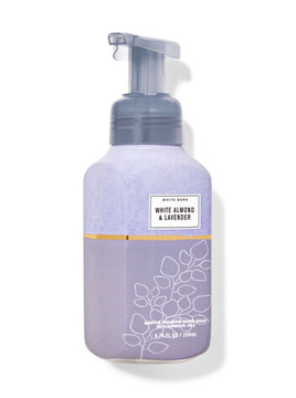 Жидкое мыло для рук BBW Foaming Hand Soap White Almond & Lavender