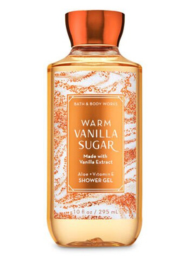 Гель для душа BBW Body Wash & Shower Gel Warm Vanilla Sugar