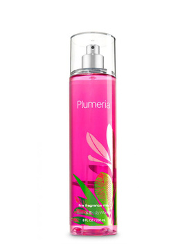 Мист для тела Bath and Body Works Plumeria