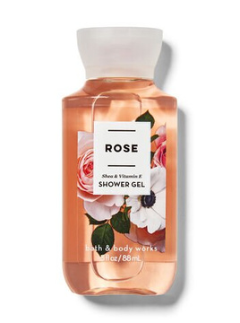 Гель для душа BBW Body Wash & Shower Gel Travel Size Rose